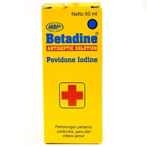 Betadine Solution 60 ml