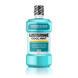 Listerine Antiseptic Mouthwash Coolmint 80 Ml