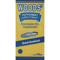 Woods Peppermint Expectorant Sirup 100 ml