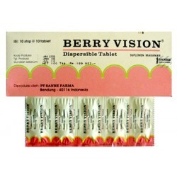 Berry Vision Tablet Dispersibel