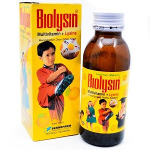 Biolysin Sirup 100 ml