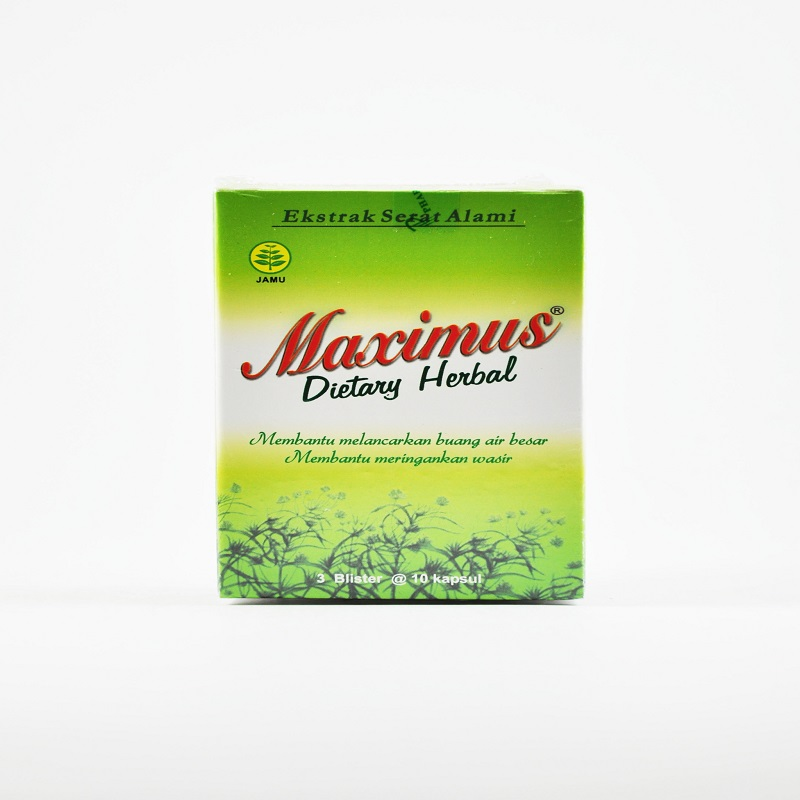 Harga Maximus Dietary Herbal di Apotik K24