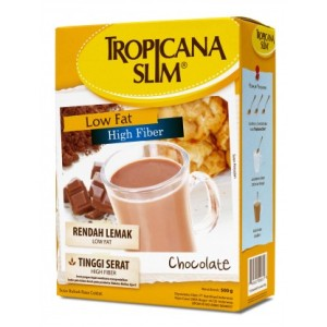 Tropicana Slim High Fiber High Calcium Milk Chocolate 500 gr