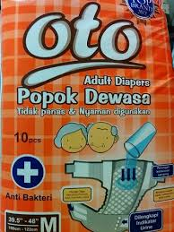 Oto Adult Diapers M Isi 10