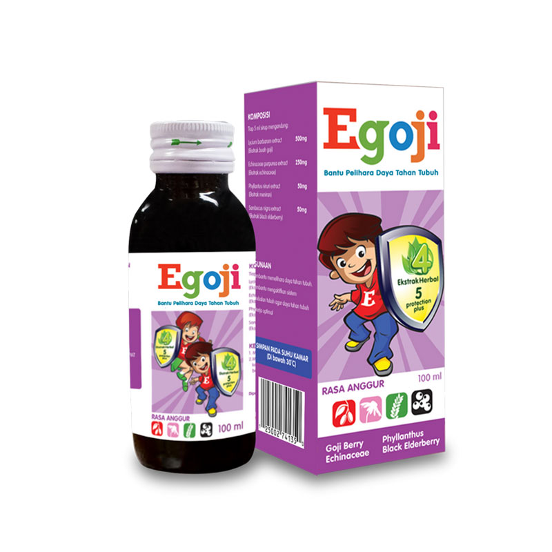 Egoji Syr Grape 100Ml