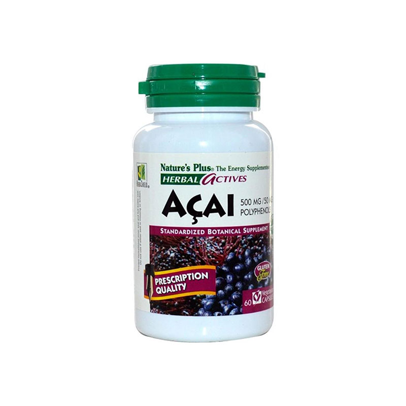 Nature'S Plus Acai 500Mg 60'S