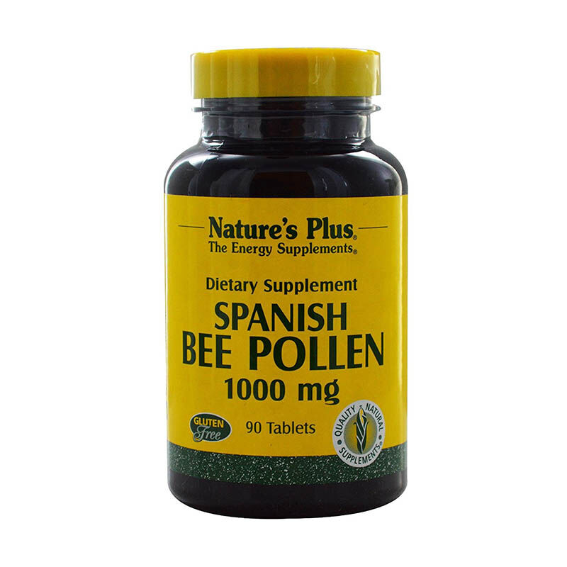 Nature's Plus Bee Pollen 1000mg Tab 90's