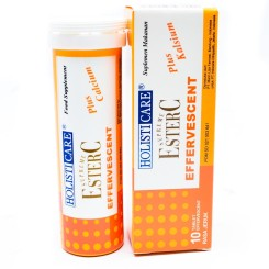 Holisticare Ester C Effervescent Orange Isi 10