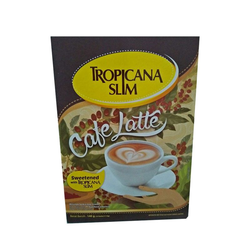 Tropicana Slim Cafe Latte isi 10