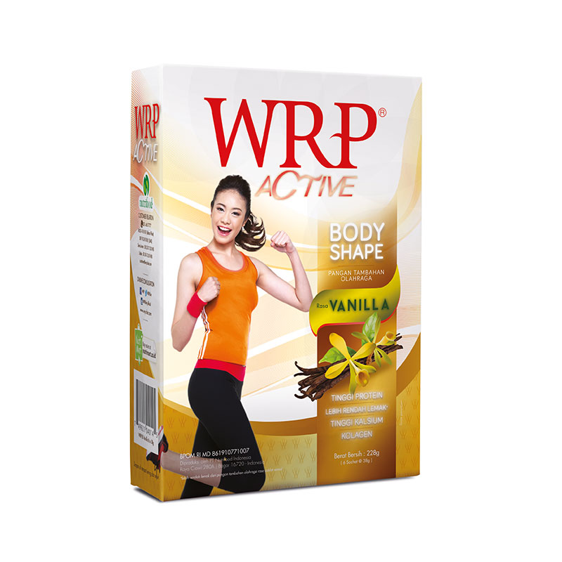 WRP Active Body Shape Balanced Vanilla Isi 12