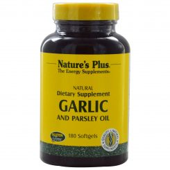 00021015 NATURE'S PLUS GARLIC AND PARSLEY OIL SOFTGELS 180'S