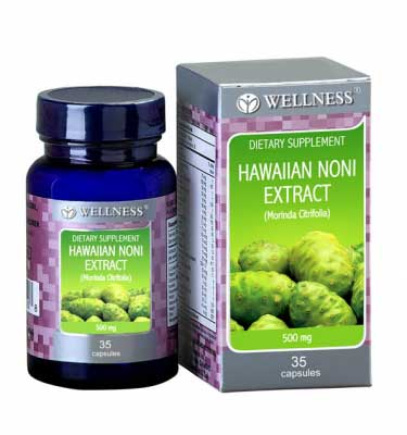 Wellness Hawaiian Noni Extract 500Mg Caps 35'S