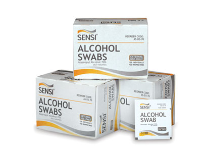 One Swab (Alkohol) isi 100pc