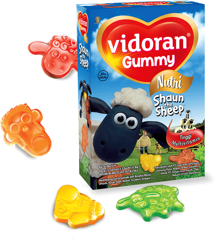 Vidoran Gummy Multivitamin
