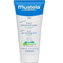 Mustela 2in1 Hair & Body Wash 200 ml