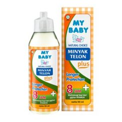 My Baby Minyak Telon Plus Longer Prot 90 ml