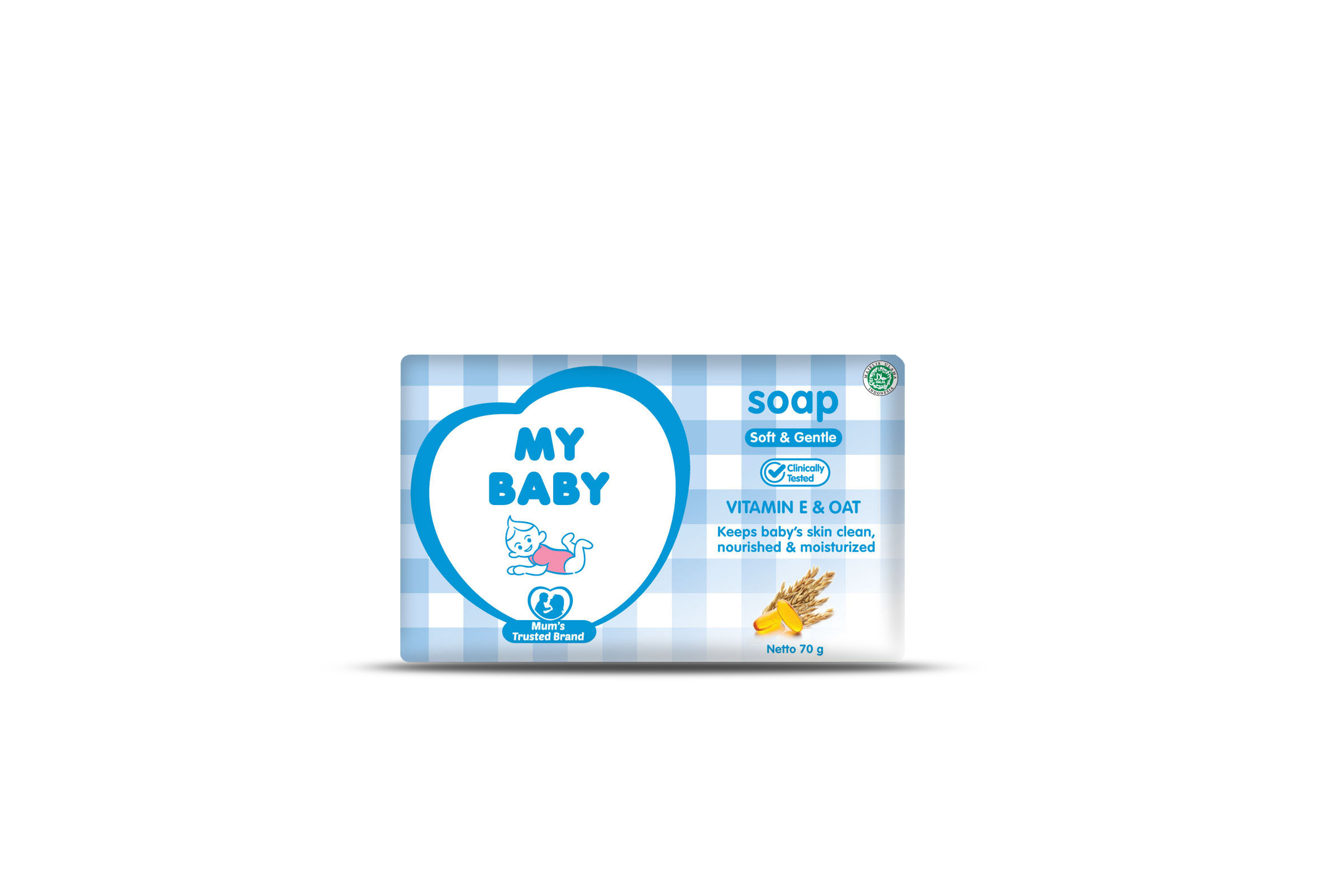 My Baby Soap 70 gr Soft&Gent