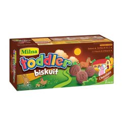 Milna Toddler Biskuit – Coklat