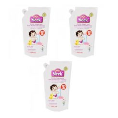 Sleek Bottle Nipple and Baby Accessories Cleanser Refill – 900ml (3 Pouch)