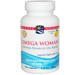 Nordic Omega Woman Lemon 120's