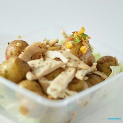 Primalite2go Roasted Chicken Rosemary with Butter Sauteed Mini Potatoes