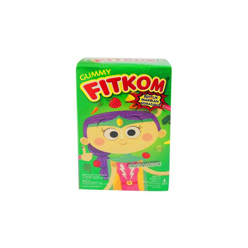 Gummy Fitkom Fruit and Veggie