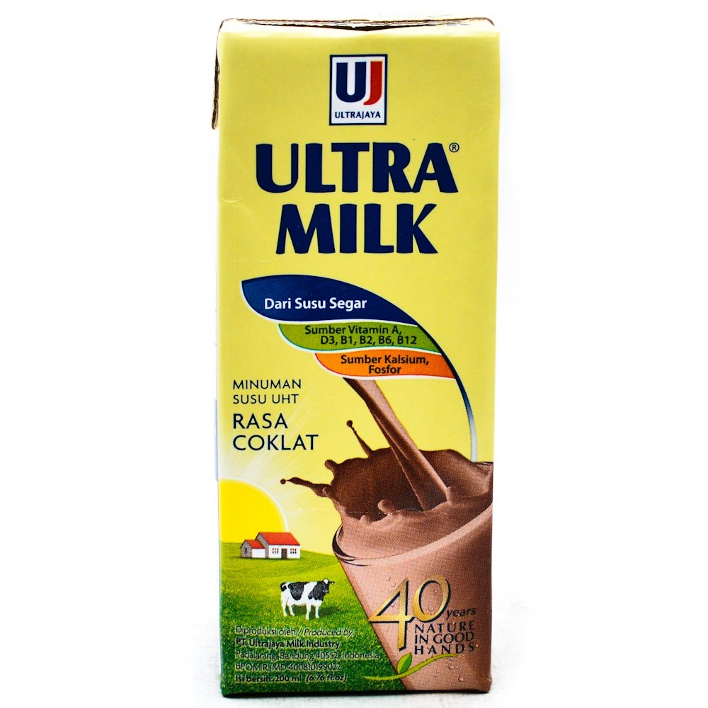 Susu Ultra Milk Coklat 200 ml