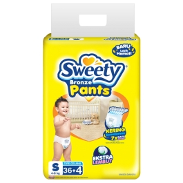 Sweety Bronze pants S 36 (Karton/8 Pack )