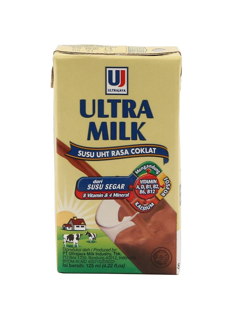 Susu Ultra Milk Coklat 125ml
