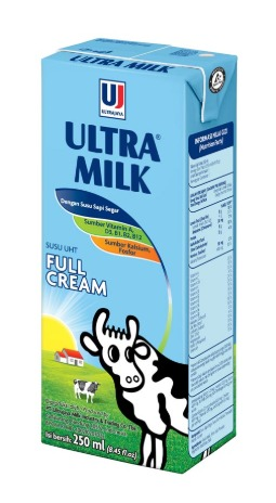Susu Ultra Milk Full Cream 250ml