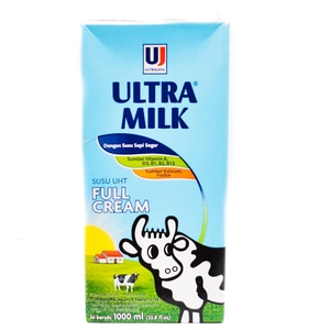 Susu Ultra Milk Full Cream 1 Liter