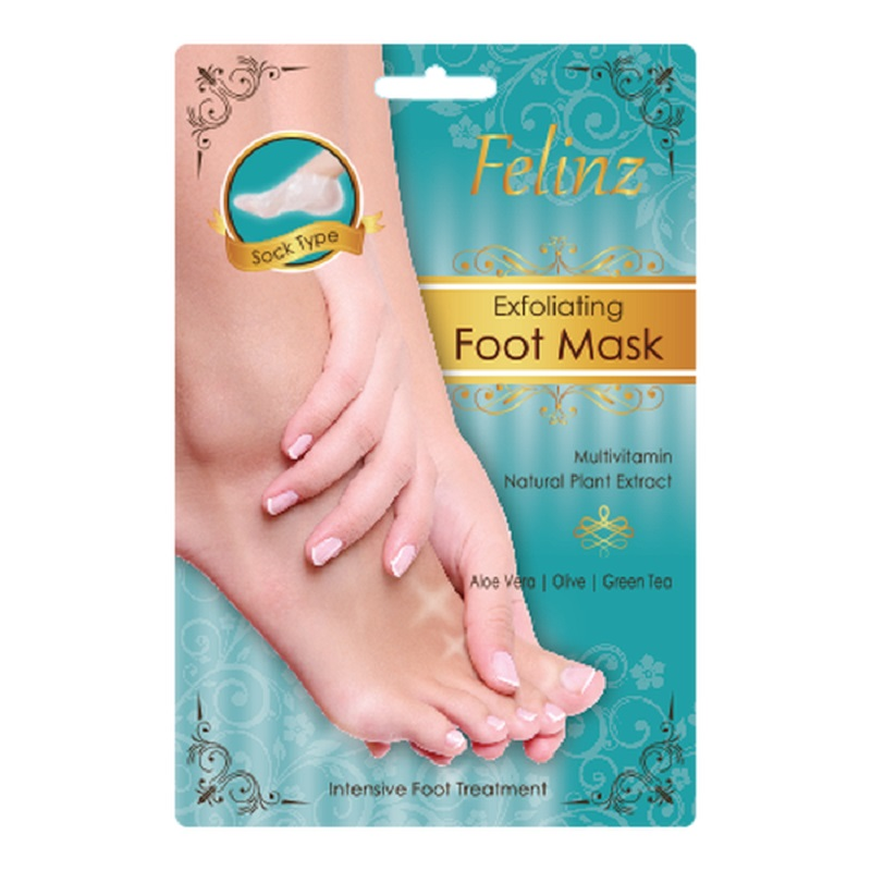FELINZ Exfoliating Foot Mask