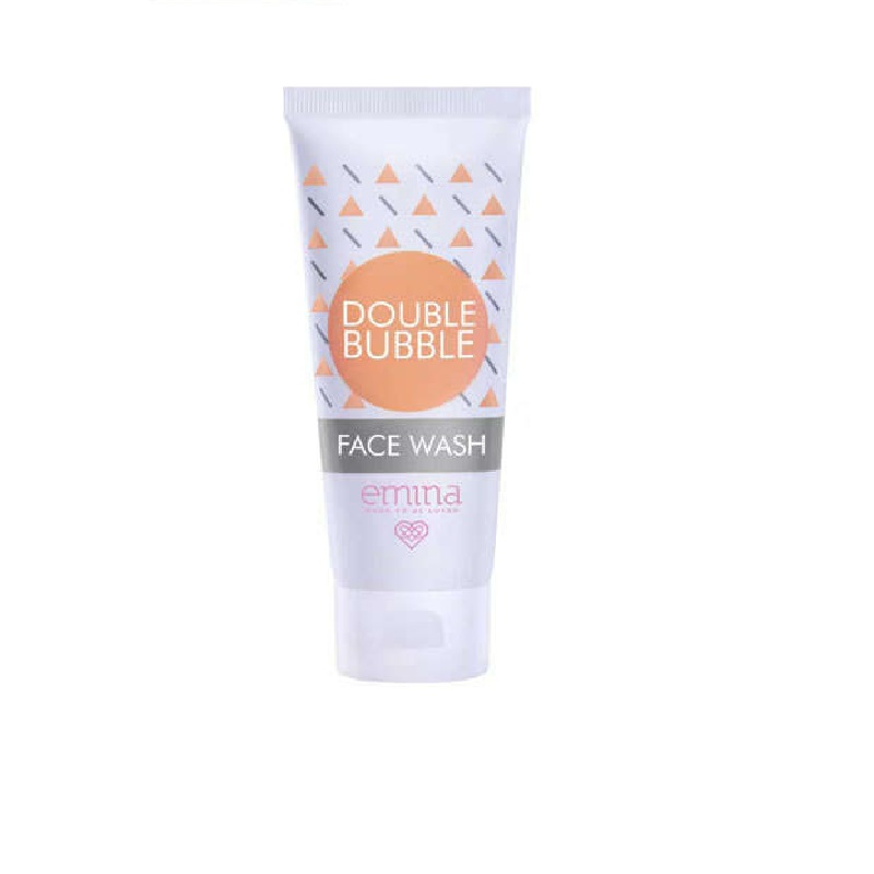 EMINA Double Bubble Face Wash – 60ml / Sabun Pembersih Wajah