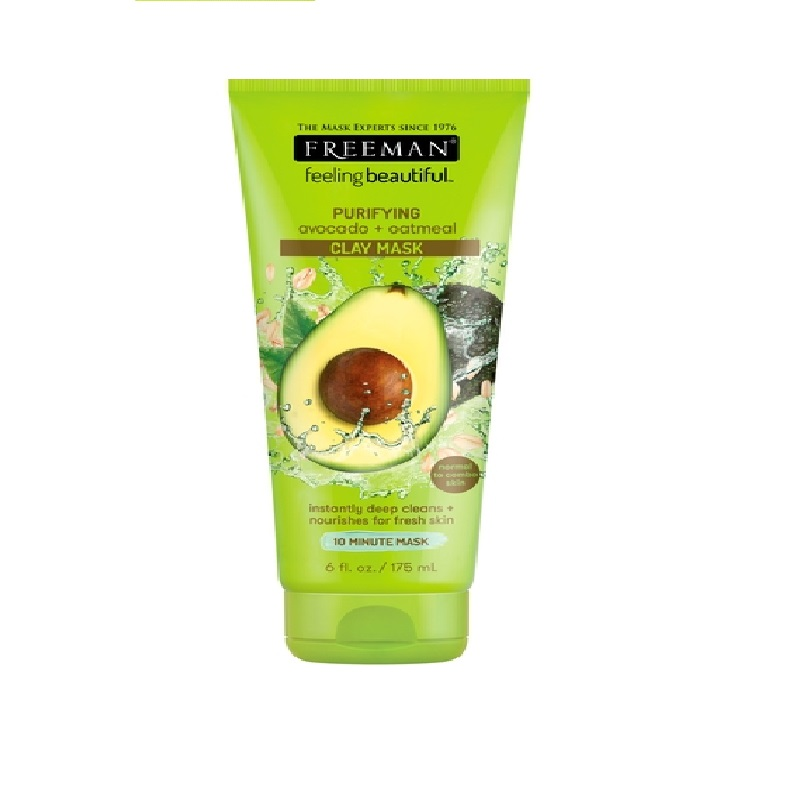 FREEMAN Purifying Avocado + Oatmeal Clay Mask
