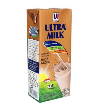 Susu Ultra Milk Mocca 250ml