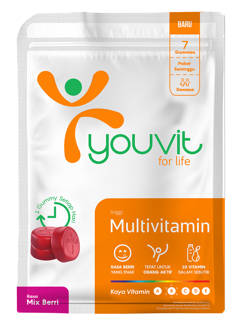 YOUVIT Multivitamin Gummy Dewasa 7 Days isi 7 pcs