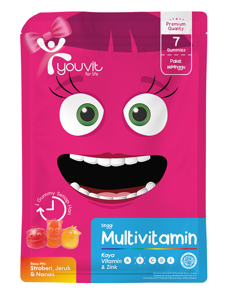 YOUVIT Multivitamin Gummy Anak 7 Days isi 7 pcs