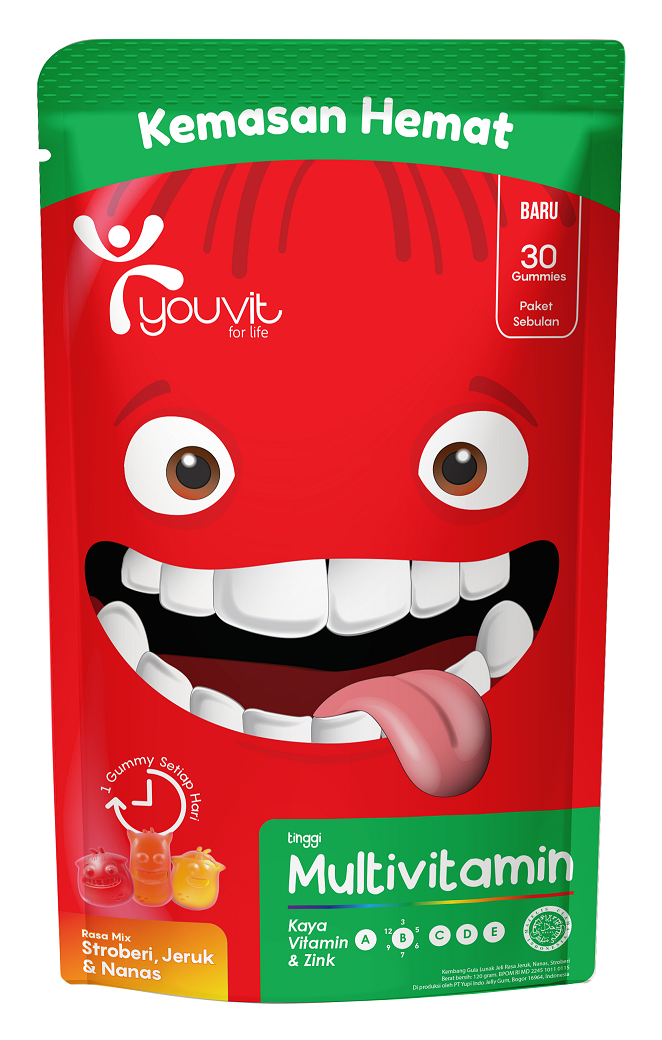 YOUVIT Multivitamin Gummy Anak 30 Days isi 30 pcs