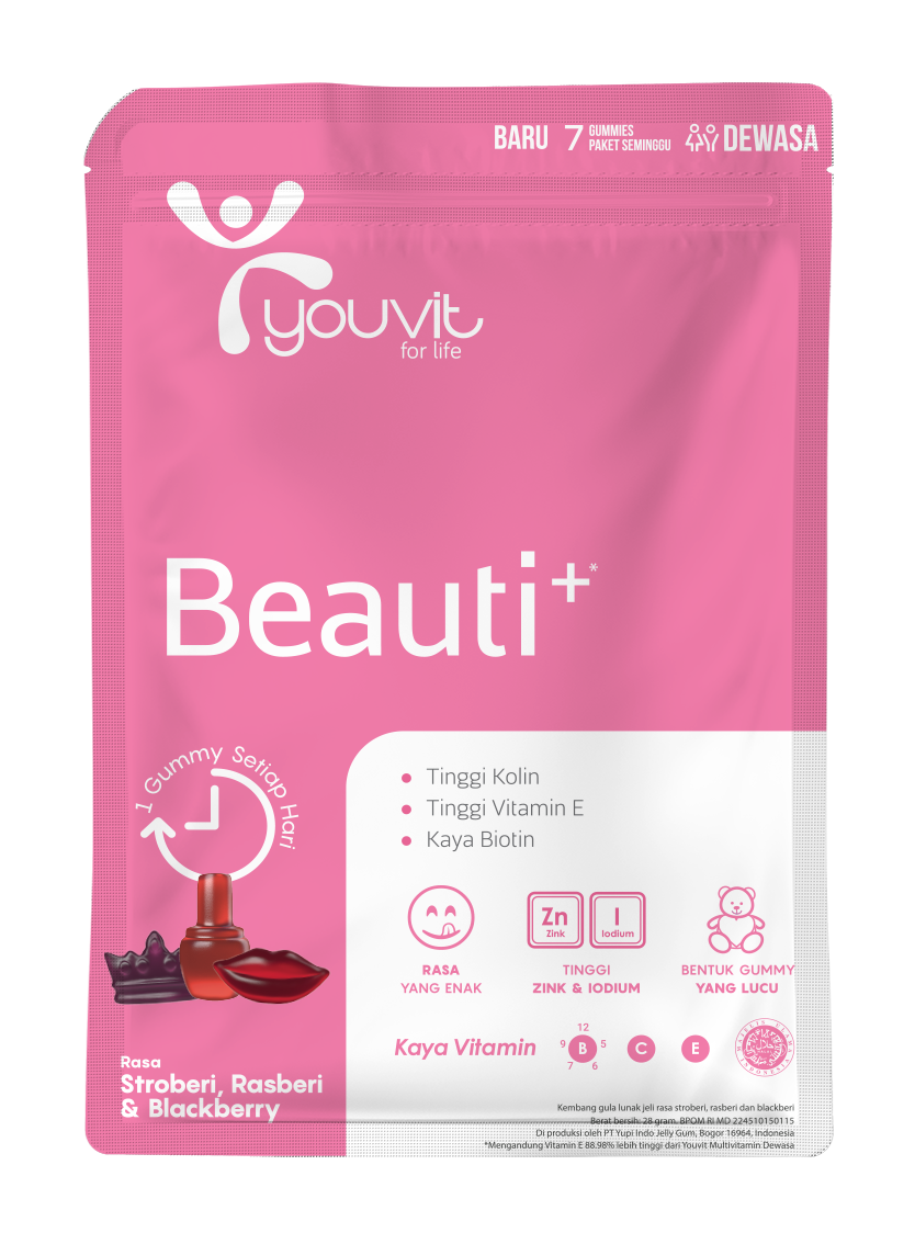 YOUVIT Multivitamin Gummy Beauti+ 7 Day Isi 7pcs