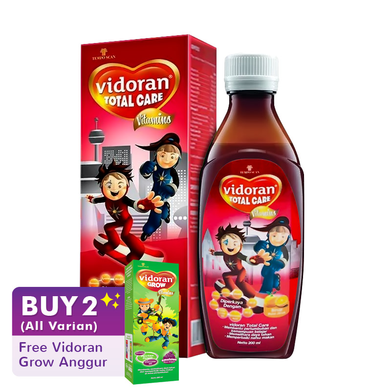 Vidoran Total Care 200ml