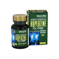 Nature's Plus Huperzine Rx Brain Tab 30's