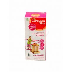 Curcuma Plus Fruit Veggie Syr Strawberry 100ml