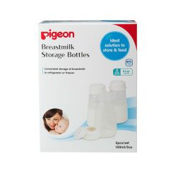 Pigeon Breastmilk Storage Bottle Pp Wn 160 Ml 3 Pcs