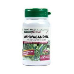 Nature's Plus Ashwaganda 450 mg Tab 60