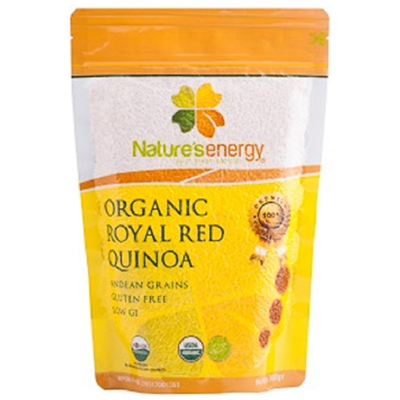 Nature's Energy Organic Royal Red Quinoa 500gr